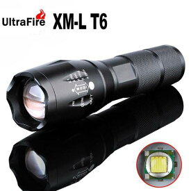 ◆ULTRA FIRE MINI LIGHT◆CREE XML-T6◆BLACK◆アタッチメント付◆