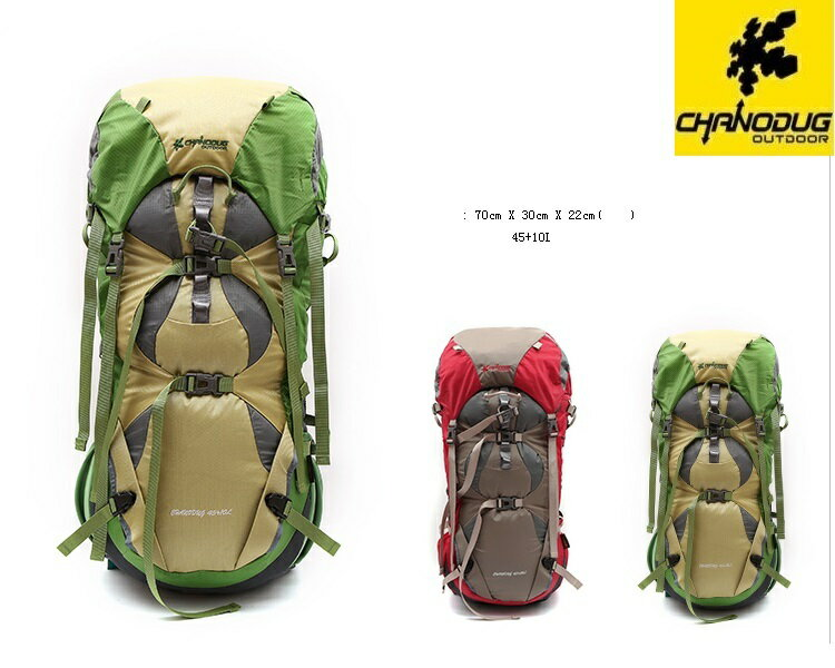 ★CHANODUG OUTDOOR★45L+10L★バックパック★