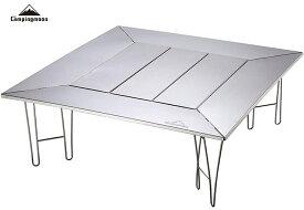 CAMPING MOON キャンピングムーン マルチ ファイアープレイステーブル 囲炉裏テーブル 焚き火テーブル 焚火テーブル バーベキューテーブル いろりテーブル マルチテーブル 送料無料