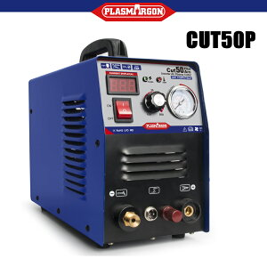【進化版】CUT50P プラズマカッター エアープラズマ切断機 インバーター デジタル切断機 200 高性能 直流 軽量【送料無料】