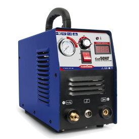 プラズマカッター プラズマ切断機 最大切断能15mm CUT50 200V 手軽いハイテク インバーター制御 チップ絶縁保護処理 過電流保護 加熱保護性能