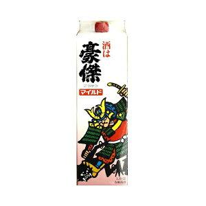 (Z)[送料無料]江井ヶ嶋酒造 豪傑 マイルドサケパック 1.8L[日本酒 大阪限定 料理 料理酒]