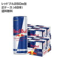 【送料無料】レッドブルRedBullエナジードリンク缶250ml(2ケース/48缶入)【国内正規品】