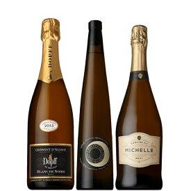 【送料無料】エスニックと飲みたい スパークリングワイン 750ml×3本セット!【フランス イタリア アメリア ワインセット 白 辛口 スパークリング】