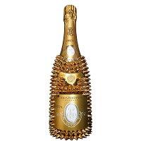 [送料無料]ルイロデレールブリュットクリスタルデコレーションボトル750ml×1本フランスシャンパンセレブギフトオリジナルトゲマンドプレゼント贈り物トゲトゲドリアン