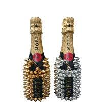 【送料無料】シャンパンハードボトル200ml×1本フランスシャンパーニュ地方【オリジナルデコレーションボトルセレブパーティーギフトプレゼントトゲトゲドリアン】