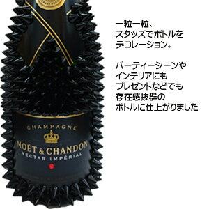 【送料無料】【オリジナルデコレーションボトル】モエ・エ・シャンドンネクターアンペリアル750mlハードブラックフランスシャンパーニュ地方