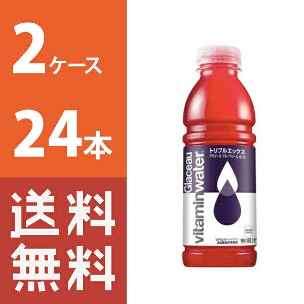 【送料無料】 グラソートリプルエックス 500mlPET 2ケース 24本セット 【コカ・コーラ / 代引き不可】