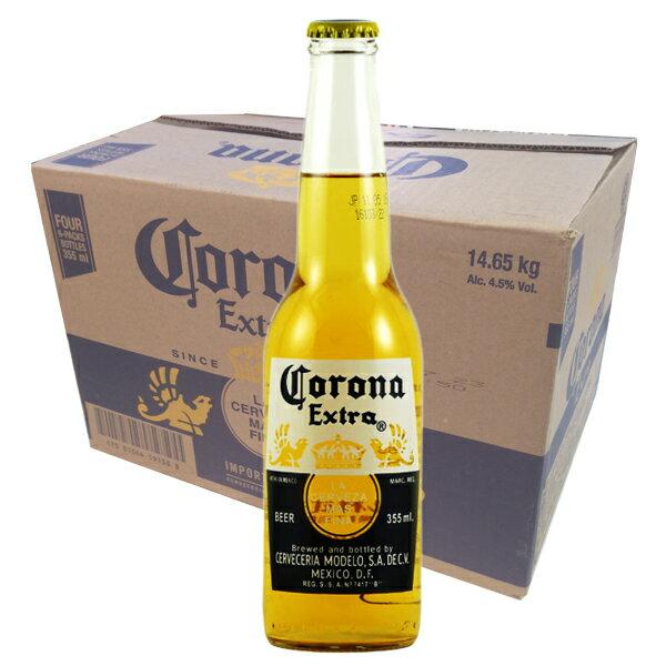 【マラソン期間限定エントリーでポイント10倍】コロナ・エキストラ ボトル 355ml瓶(1ケース/24本)メキシコビール
