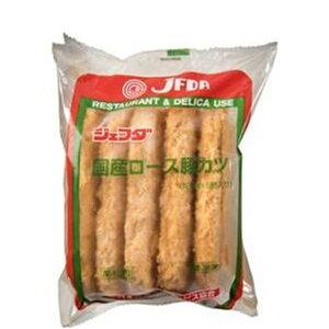 [送料無料]JFDA(ジェフダ) 国産ロロース豚カツ(120g×5)×1袋[業務用 冷凍]