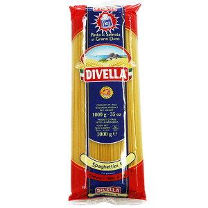 [数量限定][在庫限り]ディヴェッラ No.9 スパゲッティーニ 1kg[イタリア プーリア ロングパスタ アルデンテ パスタ ディベッラ デュラム セモリナ ディベラ]