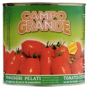 カンポ・グランデ ポモドーリ・ペラーティ業務用 ホールトマト / 2.5kg【イタリア産/CAMPO GRANDE/通/凝縮感/プーリア州/】