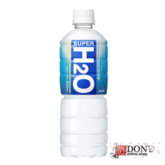 朝日饮料超级 H2O600ml 宠物 1 例 (24 瓶)