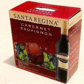 【赤ワイン】サンタ・レジーナ カベルネ・ソーヴィニヨン 赤 チリ 3000ml【バックインボックス】