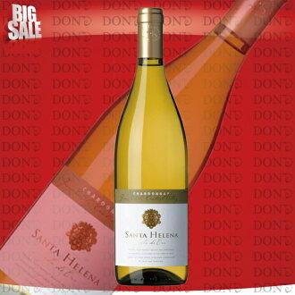 聖安娜·海倫娜·shiguro·德·oro·霞多麗幹白葡萄酒智利白葡萄酒750ml
