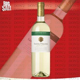 산타 헬레나/シグロ 드 오로/칠레 소비 뇽 블랑 화이트 와인 750ml