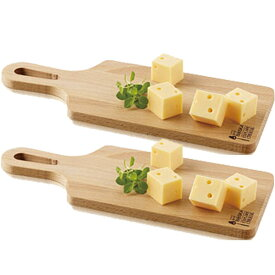 [送料無料] チーズボード ビーチウッド×2個セット[料理 チーズグッズ 簡単 操作 ]