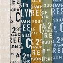 綿麻ロールサインプリント 男前インテリア シャビー ブロカント風 生地幅110cm ※50cm以上10cm単位の販売です。購入例・・数量5=50cm 適度なハリ感があり使いやすい綿麻キャンバス。 生地