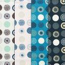 【nina】新柄 幾何柄 北欧 ソフリー加工 プリント 生地幅110cm ※50cm以上10cm単位の販売です。購入例・・数量5…