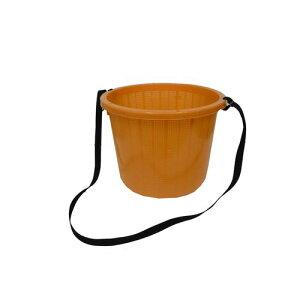丸型収穫かご 大(ひも付)|安全興業|園芸用品 ガーデニング用品