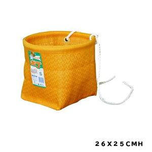 スーパーポテS|26X25cmH|園芸用品・ガーデニング用品 かご 山菜、果物の採取用