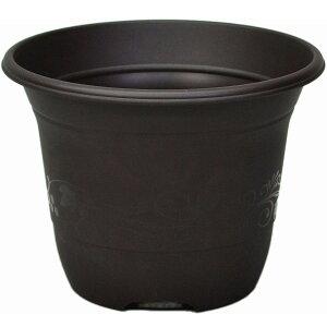 デコレポット 10号|ダークブラウン|アップルウェアー|ガーデニング用品 園芸用品 家庭菜園 植木鉢 プランター