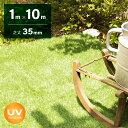 人工芝 ロール 1m×10m 芝丈35mm 送料無料 人工芝 芝生マット 人工芝生 人工芝マット 人工芝ロール 芝生 ロールタイプ…