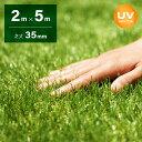 人工芝 ロール 2m×5m 芝丈35mm 送料無料 人工芝 芝生マット 人工芝生 人工芝マット 人工芝ロール 芝生 ロールタイプ …