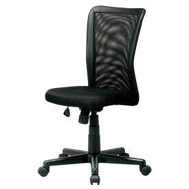 【送料無料】オフィスチェアー オフィス メッシュ チェア チェアー ミドルバック 肘無し ブラック 椅子 メッシュバック イス いす 1脚販売 ミーティングチェア 学習机用椅子 イス 書斎用 スタイリッシュ SOHO