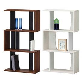 【送料無料】60 ラック ロータイプ (NA/WH/DK) ディスプレーラック ラック シェルフ 縦置き/横置きどちらも使用可能 オープンラックで飾り棚としても 本棚 書棚 ナチュラル/ホワイト/ダークブラウンの3色 北