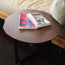 【送料無料】サイドテーブル ソファサイドやベッドサイドに便利な丸テーブル ミニテーブル 円形 丸 花台や子機置きにも◎ 北欧/モダン/スタイリッシュ/レトロ/ミッドセンチュリー/ラグジュアリー 幅55cm 奥行き55cm 高さ46.5cm
