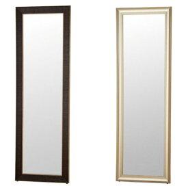 【送料無料】ミラー 58×176 (CG/BK) 全身鏡 姿見 鏡 全身 スタンドミラー 大型 大型ミラー 大きい 立て掛け 5mm スタイリッシュ 北欧 メンズ レディース レッスン かっこいい スマート 角型 家具