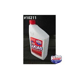 LUCAS OIL ルーカスオイル SAE 0W-40 MOTOR OIL LUCAS SYNTHETIC 1クォートx6本(6クォート) #10211