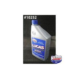 LUCAS OIL ルーカスオイル HIGH PERFORMANCE OIL LUCAS SAE 20W-50 1クォートx6本(6クォート) #10252