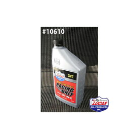LUCAS OIL ルーカスオイル RACING ONLY LUCAS SYNTHETIC SAE 10W-30 1クォートx6本(6クォート) #10610