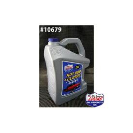 LUCAS OIL ルーカスオイル HOT ROD & CLASSIC LUCAS SAE 10W-30 5クォートx3本(15クォート) #10679