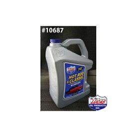 LUCAS OIL ルーカスオイル HOT ROD & CLASSIC LUCAS SAE 10W-30 1クォートx6本(6クォート) #10687