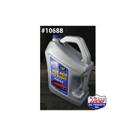 LUCAS OIL ルーカスオイル HOT ROD & CLASSIC LUCAS SAE 10W-40 1クォートx6本(6クォート) #10688