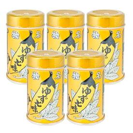 八幡屋礒五郎七味唐辛子缶入ゆず入り5個 七味で有名な善光寺の七味唐辛子