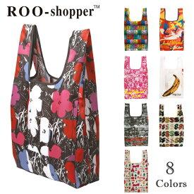 【150円クーポン】 ROOTOTE ルーショッパー REG Warhol-A コラボレーション エコバッグ エコロジーバッグ eco 折りたたみ ROO SHOPPER < レディース メンズ ファスナー付き サブバッグ お買い物袋 レジ袋>