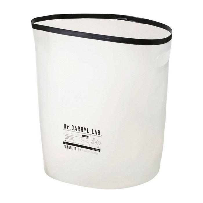 【150円クーポン】 INTERFORM インターフォルム ランドリーバスケット Dr.Darryl Lab. ドクターダリル ラボ ホワイト φ28×高さ35cm LW-1807FR <インターフォルム 新生活応援 インテリア おしゃれ 北欧>