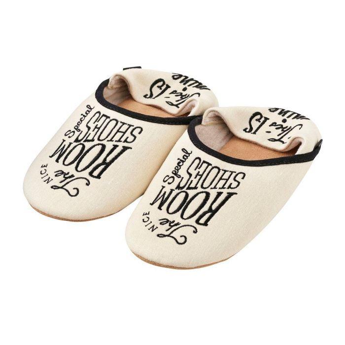 【150円クーポン】 INTERFORM インターフォルム ルームシューズ The Room Shoes ザ アイボリー L Size 〜27cm FL-2165IV <インターフォルム 新生活応援 インテリア おしゃれ 北欧 スリッパ>