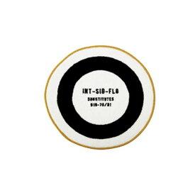 【150円クーポン】 INTERFORM インターフォルム マット Lavatory Flagラバトリーフラッグ ホワイト FL-2810WH <インターフォルム 新生活応援 インテリア おしゃれ 北欧>