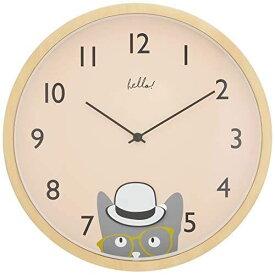 【150円クーポン】 INTERFORM インターフォルム 掛け時計 Little watchers -Pendulum- リトルウォッチャーズ -ペンデュラム- ピンク CL-2953PK <インターフォルム 新生活応援 インテリア 北欧 掛時計 かけ時計 壁掛け かわいい おしゃれ アルミ 音がしない 連続秒針>