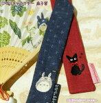 トトロ扇子袋刺繍