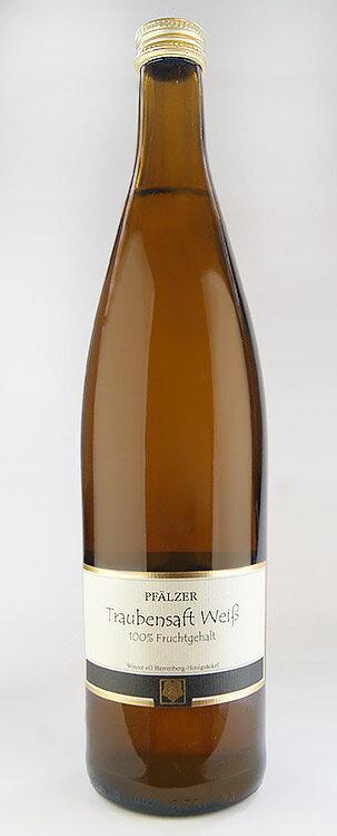 ファルツァー・トラウベンザフト 【白ブドウジュース】 (ヘレンベルク・ホーニッヒゼッケル) Pfalzer Traubensaft weiss (Herrenberg Honigsackel) 【ノンアルコールワイン】【100%ブドウジュース】 【ドイツ】[ファルツァー トラウベンザフト]