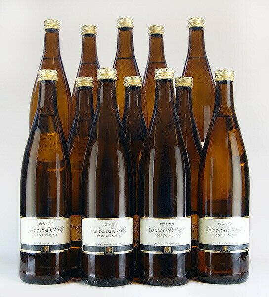 ファルツァー・ トラウベンザフト 【白ブドウジュース】 [12本] (ヘレンベルク・ホーニッヒゼッケル) Pfalzer Traubensaft weiss [12本] (Herrenberg Honigsackel)【ノンアルコールワイン】【100%ブドウジュース】 【ドイツ】