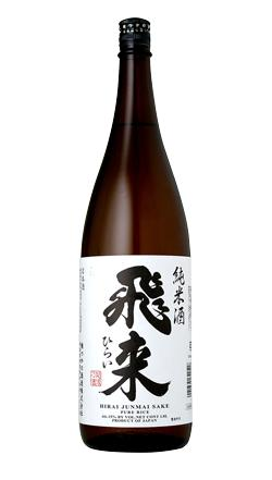 飛来純米(越つかの酒造株式会社)1800ml6本【日本】【新潟】【日本酒】