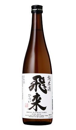 飛来 純米 (越つかの酒造株式会社) 720ml 【日本】【新潟】【日本酒】