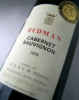 レッドマンカベルネ・ソーヴィニヨン1500mlマグナムサイズ[1991](レッドマン)REDMANCabernetSauvignon1500ml[1991](Redman)【赤ワイン】【オーストラリア】